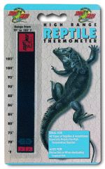 Zoo Med Laboratories High Range Thermometer - TH-10