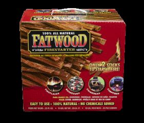 Wood Products International Fatwood Color Box 10 Pounds - 09910