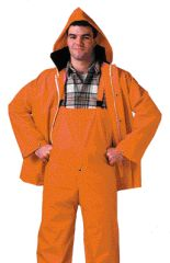 Rubber Suit - Tingley Rubber Tuff Enuff Plus 2 Piece Suit Yellow Medium - S62217