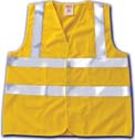 Safety Vest - Tingley Rubber Hi-visibility Safety Vest Lime Xlarge - V71722-XL