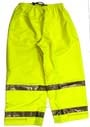 Rubber Pants - Tingley Rubber Vision Pants Lime Xxlarge - P23122.2X
