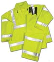 Hooded Jackets - Tingley Rubber Vision Hooded Jacket Lime Xxlarge - J23122.2X