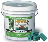 Durvet Motomco Hawk Bait Chunx 9 Pound - 31270