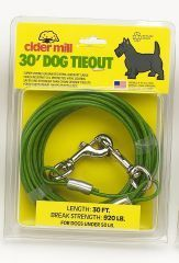 Booda Products Vinyl Tieout Green 30 Feet - 3492030