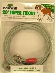 Booda Products Super Tie Out Extra Heavy 20 Feet - 3442020