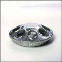 Galvanized Round Feeder 6 Inch - 9808