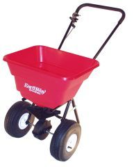 Earthway Products Estate Broadcast Spreader Red 80 Pound Hopper - 2050P