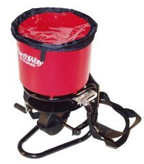 Earthway Products Commercial Crank Spreader Red 40 Pound Hopper - 3100