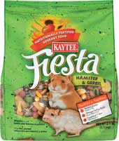 Central Avian and Kaytee Fiesta Hamster Gerbil Food 5 Pounds - 100032294