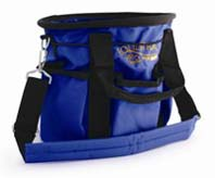 Desert Equestrian Equestria Grooming Bag Blue 10 Inches - 2193