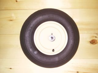 SCENIC ROAD SR-10 SR-8 WHEELBARROW WHEEL BLACK 16 INCH