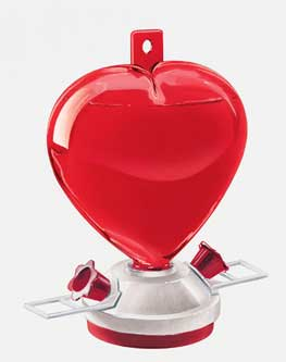 Artline Heart Window Feeder Red 12 Ounces - 5571