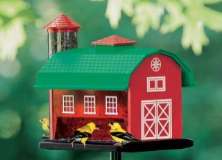 Artline Red Barn Combo Feeder Red 3 Pounds - 6290