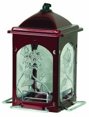 Gardner Equipment Scarlet Rose Bird Feeder Red - 3522