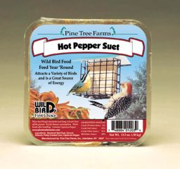 Pine Tree Farms Never Melt Suet Hot Pepper 13 Ounce 3013