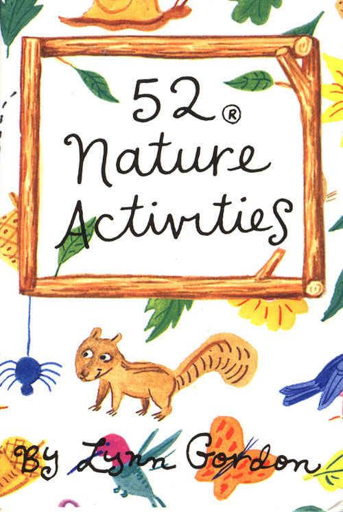 Chronicle Books 52 Nature Activities Book