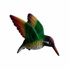 Clark Collection Rainbow Hummingbird Window Ornament