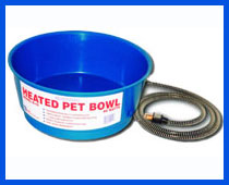 Farm Innovators Economical Round Pet Bowl - 60 Watt - Blue