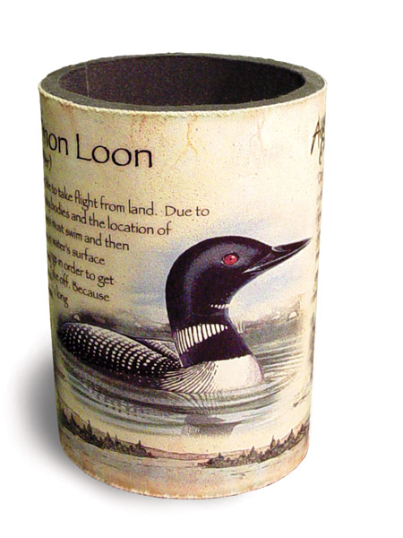 Image of American Expedition Common Loon Beverage Holder