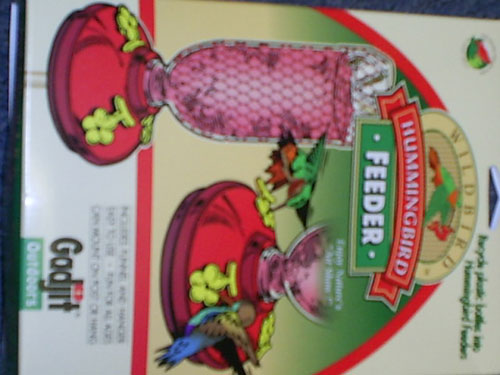 Gadjit Gadjit Soda Bottle Hummingbird Recycler Feeder