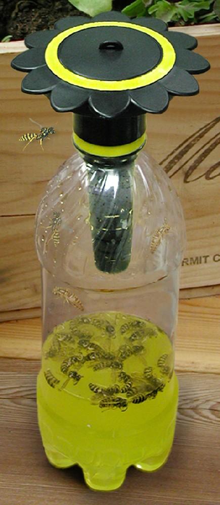 Gadjit WP26135 Soda Bottle Wasp Trap Black  Non Toxic