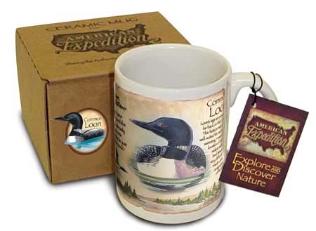 American Expedition AMECM15121 Loon 15oz Mug