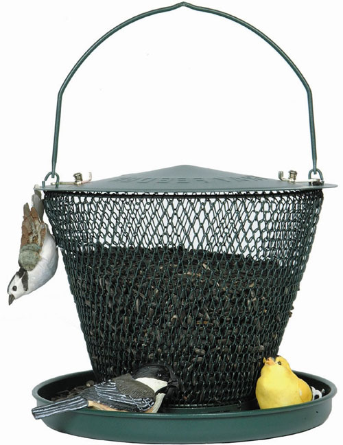 Tray Bird Feeder - Green (ZX9GC3309 PA301581 PamperedPets) photo