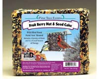 Pine Tree Farms 2.5 lb. Fruit  Berry  Nut Seed Cake GC3596
