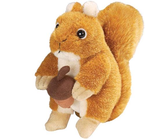 Wild Republic Red Squirrel Plush Toy