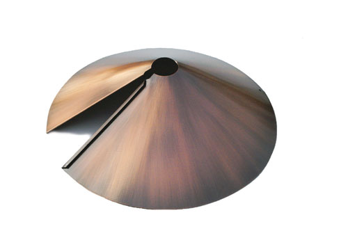 Woodlink Audubon Series 18Inch Brushed Copper Wrap Baffle