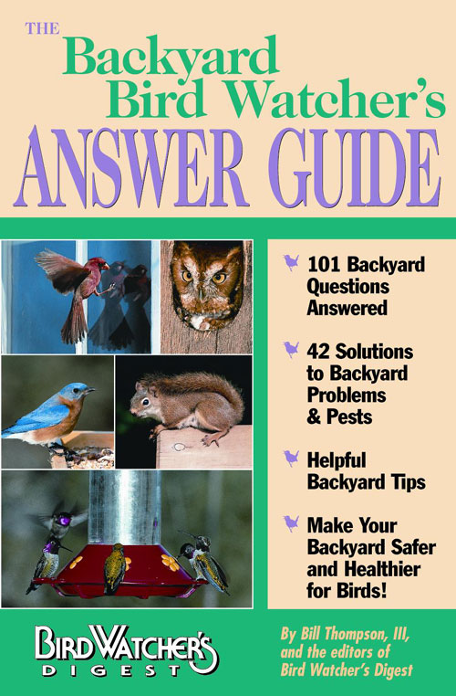 Bird Watcher s Digest Backyard Bird Watcher s Answer Guide Book