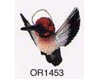 Brushkins by Nature s Accents Hummingbird Grn and Brn Ornament
