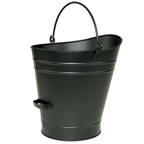 Minuteman C-66 Coal Hod - Pellet Bucket - Large - Powder Coated Black