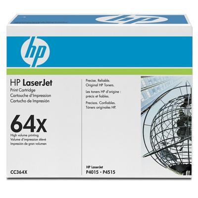 HP Consumables CC364X HP LaserJet 64X Black Print