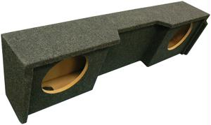 Image of ATREND A152-10CP SUBWOOFER BOXES 10 DUAL DOWN-FIRE