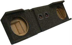 ATREND A162-10CP DUAL 10 DOWN-FIRE ENCLOSURE FOR HEAVY DUTY CREW CABS 2000 & UP
