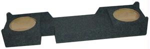 ATREND A372-10CP SUBWOOFER BOXES 10 DUAL DOWN-FIRE