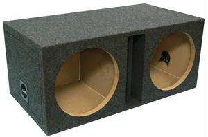 ATREND E10DV DUAL VENTED ENCLOSURE with DIVIDED CHAMBERS 10