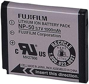 FUJI 15764041 NP-50 LI-ION RECHARGEABLE BATTERY