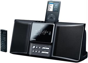 ILUV I169 HD RADIO with IPOD DOCK and DUAL ALARM CLOCK