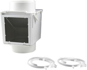 Deflecto EX12 Heat Saver & Lint Trap