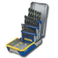 HANSON IRWIN 3018005 29 Piece Black And Gold Drill Bit Set
