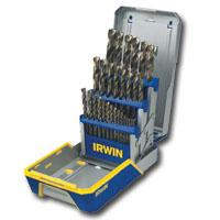 HANSON IRWIN 3018006B 29 Piece M2 Turbomax Drill Bit Set Reduced Shank