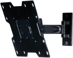 PARAMOUNT BY PEERLESS PP740 PIVOT WALL ARMS FOR 22 - 40 LCD SCREENS GLOSS BLACK