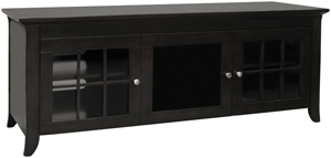 TECHCRAFT CRE60B Hi Boy Credenzas for Flat Panel Televisions (60 )
