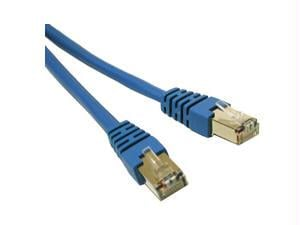 14ft CAT5e Shielded Patch Cable Blue