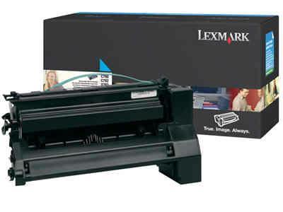 LEXMARK C780H2CG High Capacity Cyan Toner Cartridge