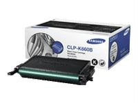 SAMSUNG CLP-K660B Compatible High Yield Laser Toner Cartridge - Black