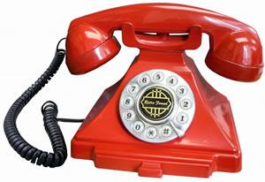 Golden Eagle GOL-GEE-2518RE Classic Brittany Desk Phone RE