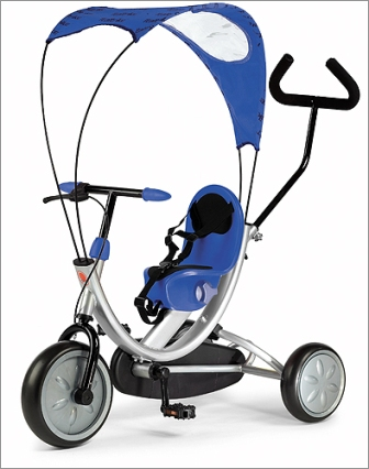 Italtrike 1503 OKO Line Tricycle - Blue